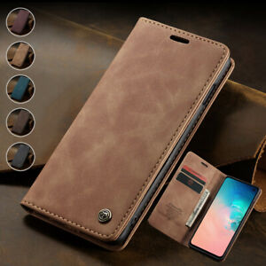 Magnetic Wallet Case Card Leather Flip Cover for Samsung S10e S10+ S9+S8+S7 Edge