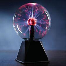 "7"" Nebula Plasma Ball Touch & Sound Motion Disco Party Light Globe"