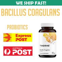 Thorne Research Bacillus Coagulans 60 Caps 693749758020 Probiotic GI Health AU