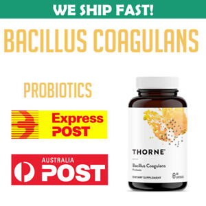 Thorne Research Bacillus Coagulans 60 Caps 693749758020 Probiotic GI Health AU