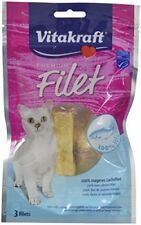 Vitakraft Premium Friandise Filet saumon pour Chat 54 G -