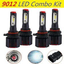 4PCS 9012 Fits Nissan Maxima 04 05 06 07 LED Headlight High Low Beam Combo Bulbs