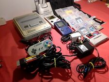 Super Nintendo Konsole mit 2 Gameboys und Spielen