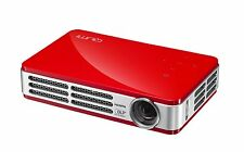 Vivitek Qumi Q5 (500 LM DLP, LED Proyector Portátil Rojo, 3D/HD)