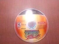 Microsoft OG Xbox Disc Only Tested Teenage Mutant Turtles Mutant Nightmares 3