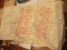 VINTAGE M. A. CO BROILER RATION FEED 100 BUFFALO, N. Y.