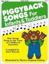 Piggyback Songs for Infants and Toddlers Warren, Jean Paperback