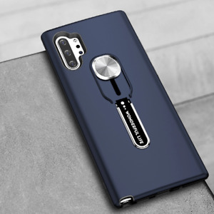 For Samsung Galaxy Note10/ Note10 Plus Shockproof Ring Stand Magnetic Case Cover