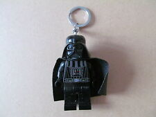 LEGO Star Wars DARTH VADER Minifigure Keyring Keychain LED Light Torch