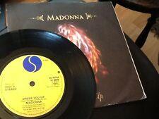 MADONNA  . DRESS YOU UP .  Classic  1980's Hit  1985 NR MINT VINYL
