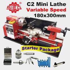 SIEG C2 /180x300mm Variable Speed Mini Hobby Lathe  Starter Pack