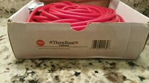 5 feet RED Tube Theraband resistance Physical Occupational Therapy Tubing Rehab