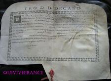 DIPLOME DE MAITRE DE CONFERENCE FACULTE DE MEDECINE DE MONTPELLIER 1767