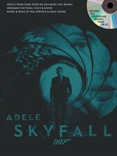 Adele: Skyfall - James Bond Theme (With Backing CD) Piano, Vocal & Guitar Sheet