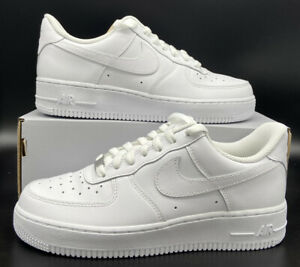 Nike Air Force 1 '07 Retro Triple White Uptown AF1 315115-112 Women's Size