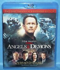 Blu-ray : Angels & Demons ( 2-Disc Set, Theatrical & Extended Editions)