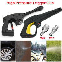 Pressure Washer Trigger Gun Lance Handle M14/M22 Hose Fitting For VAX LAVOR BS