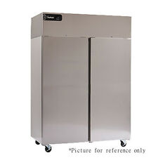 Delfield Gcf2-Sh Two Section Reach-In Freezer with Solid Half Height Door