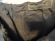 BARBOUR-VINTAGE-PRE CREST WAXED COTTON MOTORCYCLE  PANTS-WELL USED -CHABBY CHIC