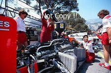 Stefan Johansson McLaren MP4/3 MONACO GRAND PRIX 1987 fotografia 2