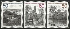 Germany Berlin 1982 MNH Architecture Views (IV) Villa Borsig Heydt Church