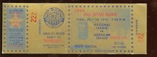 1973 MLB All Star Game at Kansas City Royals Full Ticket EX