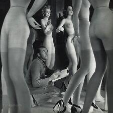 1955 Vintage 11x14 PIERRE IMANS Mannequins Display France Art By ROBERT DOISNEAU