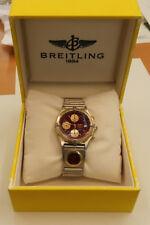 Breitling Chronomat Ref B13047 Automatik Stahl / Gold 39 mm mit UTC