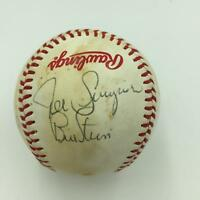 1979 All Star Game Multi Signed Autographed  Official Game Baseball