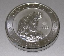 2017 1.5 oz .9999 Silver Canada Grizzly Bear $8.00 Coin