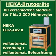 HEKA Euro-Lux II - Brutgerät für 130 Eier - vollautomat. Wendung + Befeuchtung