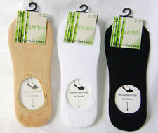 Bamboo Patternless Socks for Women