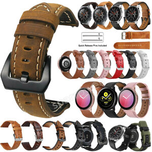 Genuine Leather Watch Band Bracelet For Misfit Vapor 2 41mm Replacement Strap