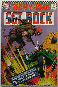Our Army At War #181 (Jun 1967, DC), VFN condition