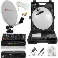 EASY FIND Camping SAT Anlage Digital Receiver LNB HDTV HD HDMI Opticum Mobile