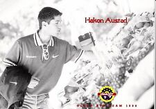 CYCLISME  carte cycliste HAKON AUSTAD bycicle GIANT ATB-TEAM  1998