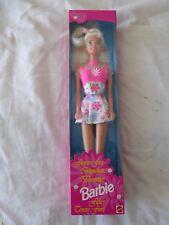 """Barbie """"Fiore Divertimento 'Bambola BIONDA con gli orecchini 1996-MATTEL 16063-NUOVO"""