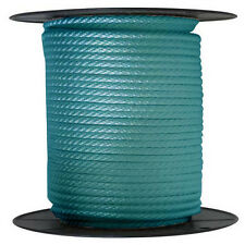 "ANCHOR ROPE DOCK LINE 5/8"" X 300' BRAIDED 100% NYLON TEAL MADE IN USA"