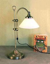 Jugendstil Tisch Büro Lampe Tischlampe Lampenglas Schreibtisch Leselampe GN177GE