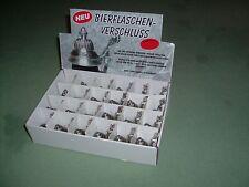 Bierflaschenverschluss,  24 Zinndeckel im Displaykarton,   129,00 €   Frei Haus