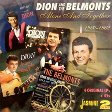 DION AND THE BELMONTS 'ALONE AND TOGETHER' - 2CD Set on Jasmine