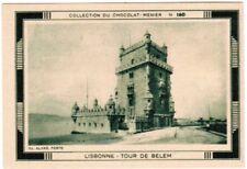 CHROMO  LISBONNE TOUR DE BELEM   8.1/5.8 CM