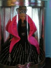 1998 Happy Holidays Barbie black dress NRFB perfect