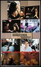 LA CHASSE AU RHINOCEROS A BUDAPEST - Nick Cave  JEU DE 8 PHOTOS / 8 FRENCH LOBBY