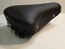 sella bici bicicletta con molle olanda R nera universale x canotto tondo qualità