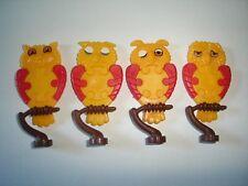 KINDER SURPRISE SET - 3D PUZZLE OWLS 1990 - FIGURES TOYS COLLECTIBLES