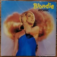 Blondie Atomic 12-inch single Vinyl Record Original 1980 VG+