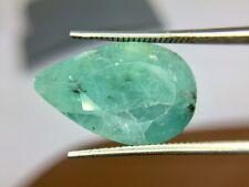 Grandidierite Pear 12.25 Carat Faceted Rare Natural Gemstone