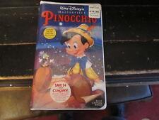 Pinocchio (VHS, 1993) NEW SEALED