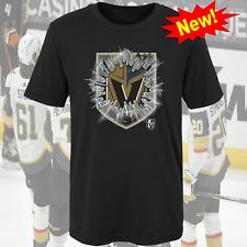 NEW!! Vegas Golden Knights NHL Ice Hockey Team T Shirt S-5XL Black